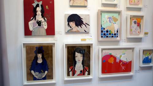 台北国際芸術展 展示作品