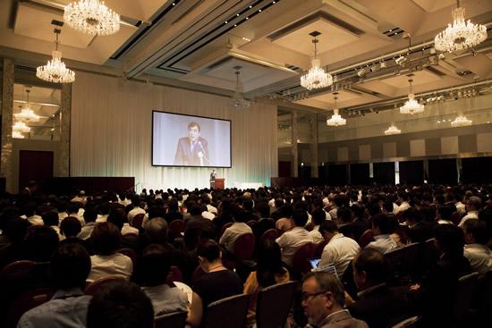 理事 HIS澤田会長による開会挨拶