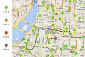 台北駅付近のステーション