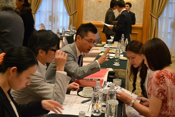 台湾&日本企業とのマッチングセッションの様子