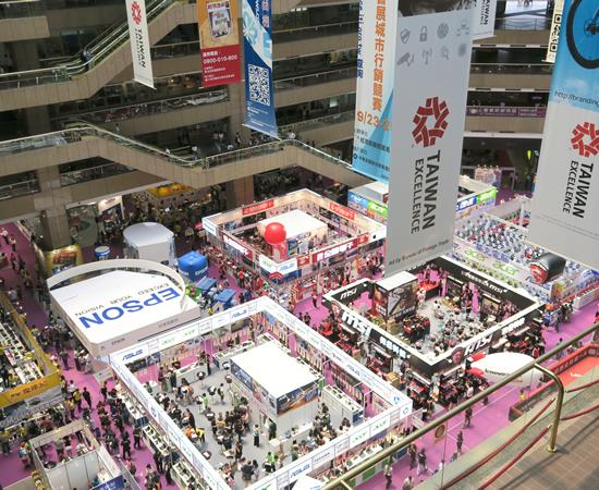 IT大国台湾での3C展示会は見ごたえがあります