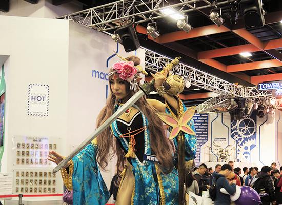 Taipei game show で披露されたTower of saviorsのキャラのコスプレ