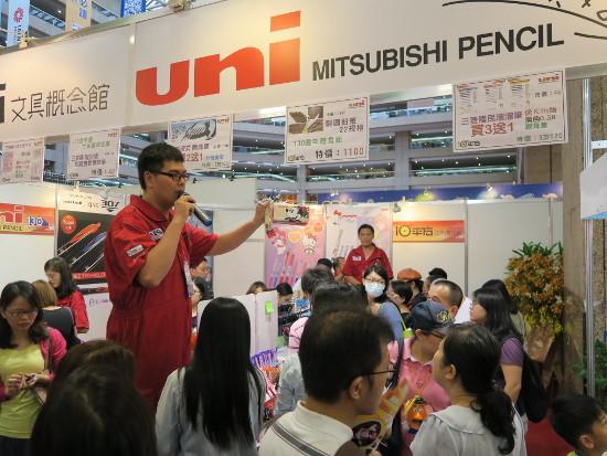 日本製筆記用具は台湾でも人気
