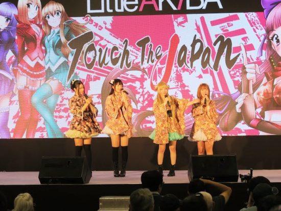 AKIBA系アイドルと台湾ご当地アイドルのコラボ